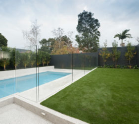 Pool Fence in Frameless Glass Melbourne Victoria